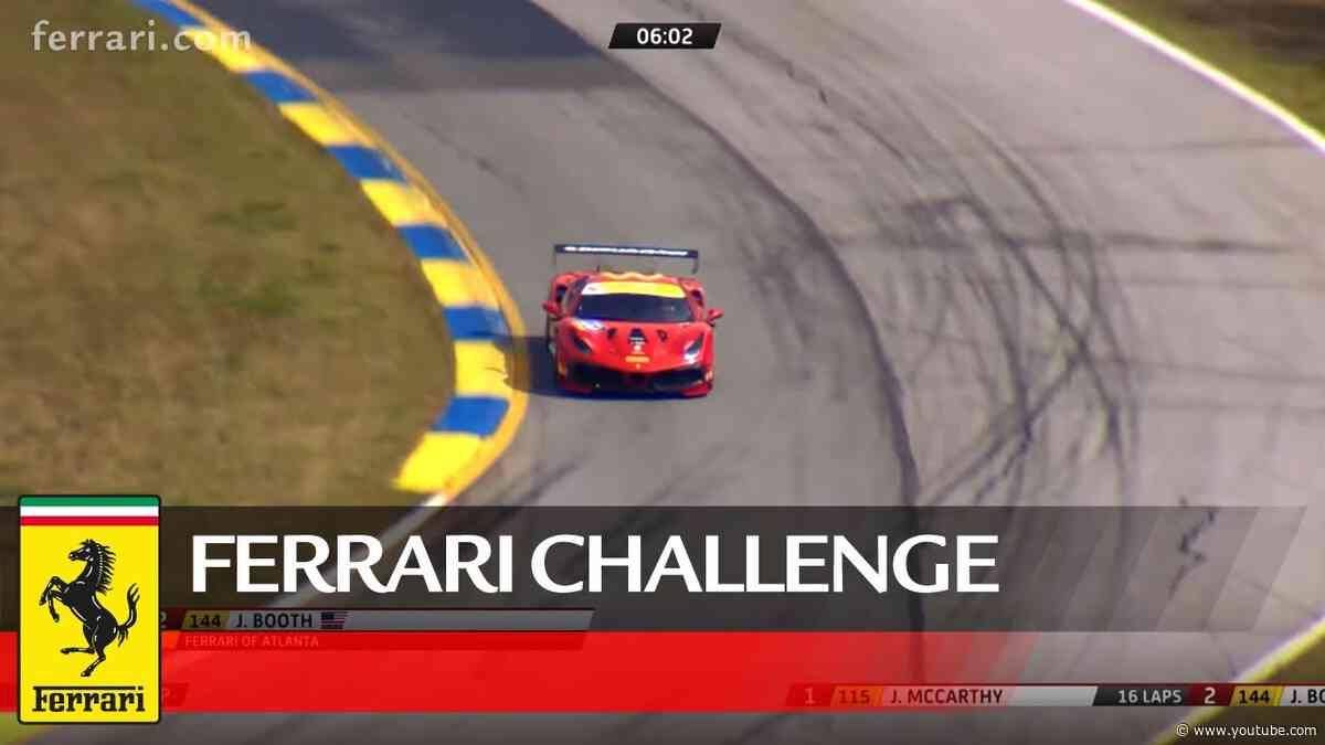 Ferrari Challenge North America - Road Atlanta 2020, Coppa Shell Race 2