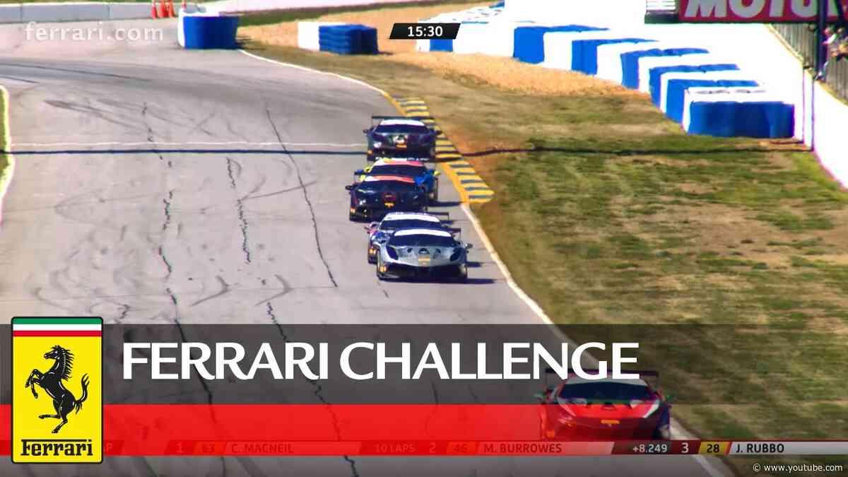 Ferrari Challenge North America - Road Atlanta 2020, Trofeo Pirelli Race 1