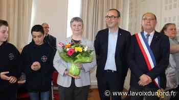 Linselles: la médaille d'or de la jeunesse et des sports pour Nathalie Butruille - La Voix du Nord