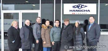 Le siège social canadien du Groupe Hangcha à Vaudreuil-Dorion - INFOSuroit.com
