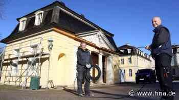 Wachthäuschen von Schloss Wilhelmsthal: Neue Toiletten für Schlossbesucher - hna.de