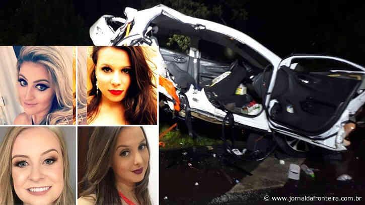 Quatro jovens moradores de Dois Vizinhos morrem em acidente na BR 282, em SC - Jornal da Fronteira