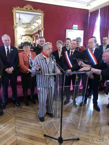Val-de-Marne. Maisons-Alfort : Jean Villeret, ancien résistant déporté, a la Légion d'honneur - actu.fr