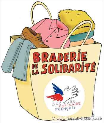 BESSAN - Grande braderie du Secours Populaire à Florensac le 14 mars 2020 - Hérault-Tribune