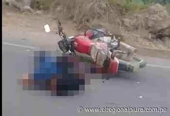 Sullana: motociclista es arrollado por volquete en distrito de Querecotillo - El Regional