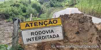 RJ-148: estrada que liga Nova Friburgo a Sumidouro continua interditada - Portal Multiplix