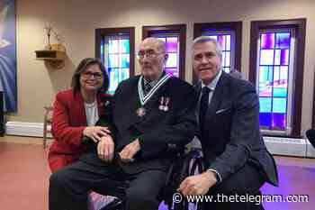 Happy Valley-Goose Bay man entered into Order of NL - The Telegram