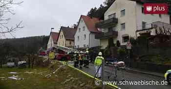 Gasexplosion in Blaubeuren-Gerhausen: Feuerwehr im Einsatz - Schwäbische