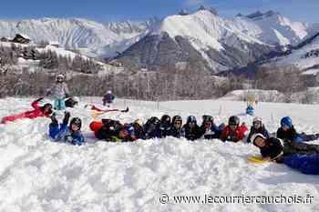 Notre-Dame-de-Gravenchon. Ecole Professeur-Roux les CM1 à la neige - Le Courrier Cauchois