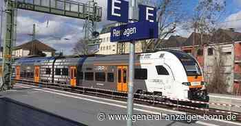 Streckensperrung RE5 (RRX): Schienenersatzverkehr zwischen Remagen und Koblenz - General-Anzeiger
