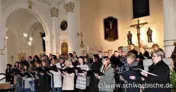Chöre setzen in Lauchheim Zeichen für die Ökumene - Schwäbische