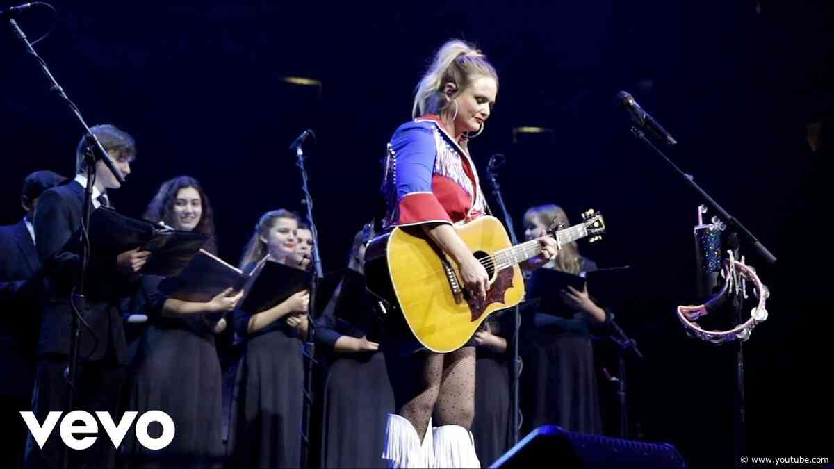 Miranda Lambert - Tin Man (with Lindale High School Choir on Tour)