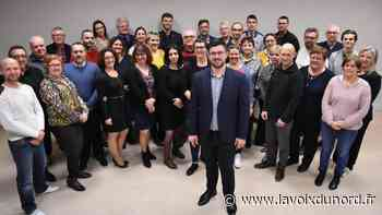 Aniche: Xavier Bartoszek veut que les Anichois s'emparent de son programme - La Voix du Nord