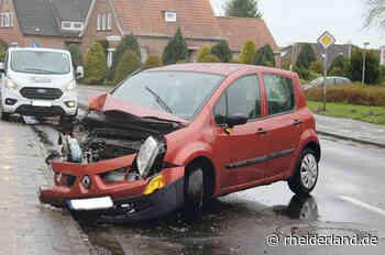 Keine Verletzten bei Unfall in Weener - Rheiderland Zeitung