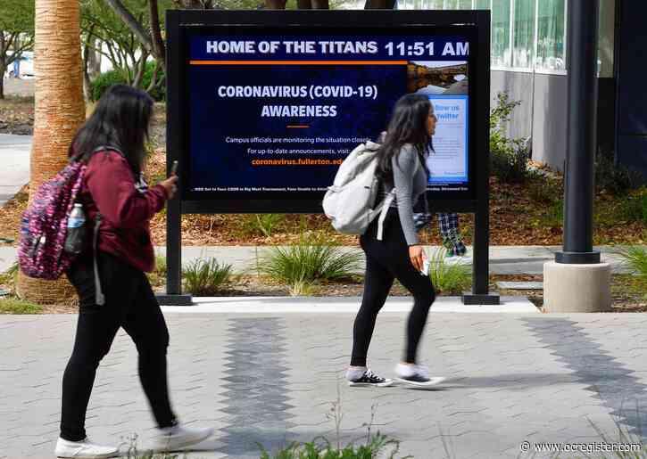 Cal State Fullerton To Halt In Person Classes Due To Coronavirus Fears Anaheim News Newslocker