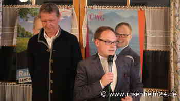 Kommunalwahl 2020 in Prien am Chiemsee: Wahlkampfendspurt der ÜWG - Bürgermeisterkandidat Andreas Friedrich | Prien am Chiemsee - rosenheim24.de