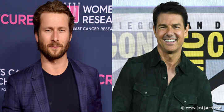 Tom Cruise Paid For Glen Powell's Flight School & He's Now A Licensed Pilot!