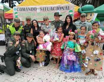 Coronaron a la reina del reciclaje en Sandoná - Diario del Sur