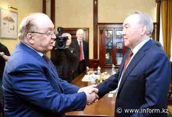 Nursultan Nazarbayev visits Lomonosov Moscow State University - Kazinform