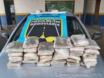 Ivinhema: Polícia Militar Rodoviária apreende 18 kg de skunk - Nova News