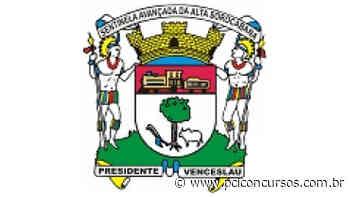 Prefeitura de Presidente Venceslau - SP retifica Concurso Público de ensino médio e de nível superior - PCI Concursos