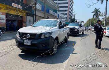 Balazos en pleno bulevar Adolfo Ruiz Cortines en Poza Rica - NORESTE