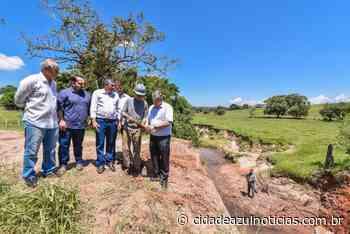 Prefeitura fará nova ponte na estrada velha de Brotas - Cidade Azul Notícias