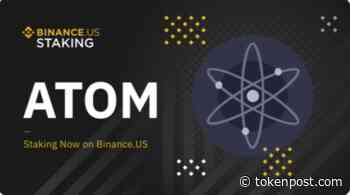 Binance US launches stake rewards for Cosmos (ATOM) - TOKENPOST