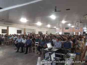Assembleia do Sicredi UniEstados em Ipira reuniu cerca de 500 associados - Michel Teixeira