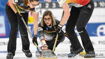 Curling-WM 2020 der Frauen: Termine, Zeitplan und Live-TV - alle Infos - Augsburger Allgemeine