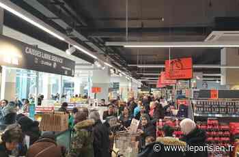 Bagneux : première journée et premières cohues dans le Lidl des Bas-Longchamps - Le Parisien