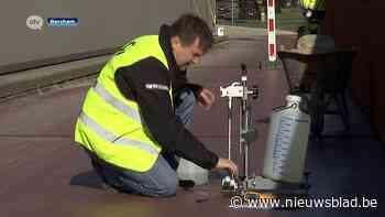 Stad laat bekleding fietshelling aan station van Berchem onderzoeken