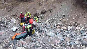 Agordino Canale d'Agordo. Cade in una scarpata, recuperato in gravi condizioni - L'Amico del Popolo