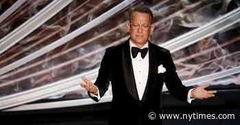 When Tom Hanks, Hollywood's Everyman, Gets Coronavirus