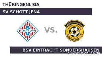 SV SCHOTT Jena gegen BSV Eintracht Sondershausen: Gelingt Eintr. Sondershausen die Trendwende? - t-online.de