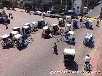 Cierran bicitaxistas el centro de Amecameca para no cumplir Bando Municipal - UnomásUno