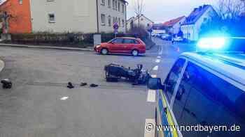 Zu Beginn der Saison: Schwerer Motorradunfall in Bad Staffelstein - Nordbayern.de