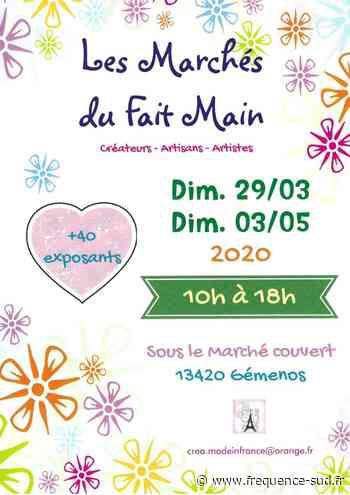Les marchés du fait main 03-05 - 03/05/2020 - Gemenos - Frequence-Sud.fr