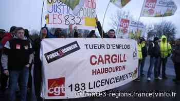 """PSE chez Cargill à Haubourdin: des salariés dénoncent """"l'ingérence"""" du gouvernement - France 3 Régions"""