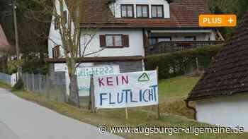 Bobingen-Burgwalden: Flutlicht-Streit: Grüne machen Landrat Vorwürfe - Nachrichten Schwabmünchen - Augsburger Allgemeine