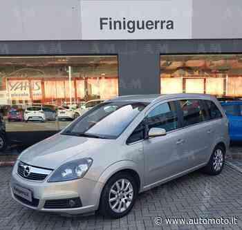 Vendo Opel Zafira 1.9 CDTI 120CV Cosmo usata a Poggiridenti, Sondrio (codice 7265898) - Automoto.it
