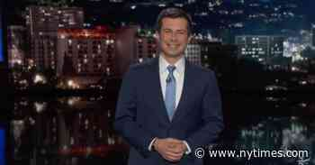 Pete Buttigieg Hosts 'Jimmy Kimmel Live' Without an Audience