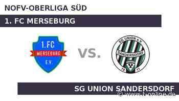 1. FC Merseburg gegen SG Union Sandersdorf: Duell auf Augenhöhe - t-online.de