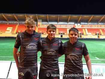 Talented rugby trio from Ysgol Bro Gwaun play for Scarlets West U16s - Tivyside Advertiser