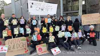 Cours perturbés au collège de Cadenet à cause d'un mouvement de grève - France Bleu