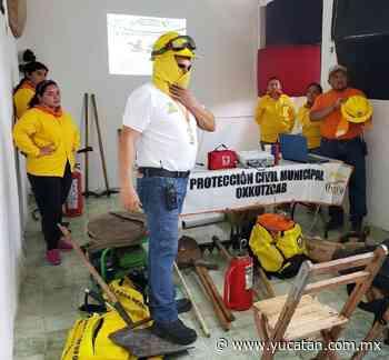 Capacitación sobre quemas en Oxkutzcab - El Diario de Yucatán