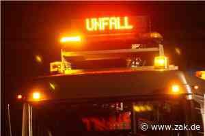 Auto überschlägt sich zwischen Dotternhausen und Roßwangen: Fahrer schwer verletzt - Zollern-Alb-Kurier