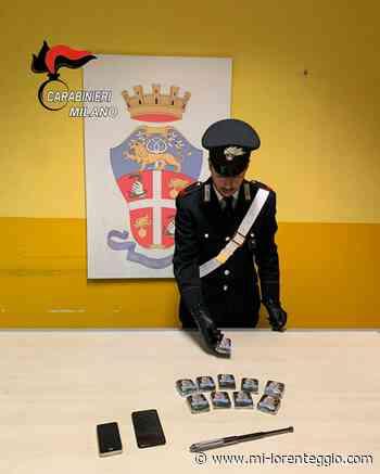 33enne di Basiglio preso a Rozzano con 1kg di marijuna sotto al sedile della moto - Mi-Lorenteggio