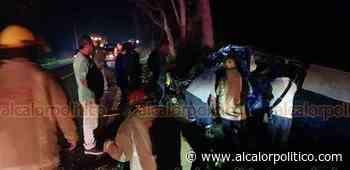 Un muerto y dos heridos tras choque entre tres vehículos, en Cosamaloapan - alcalorpolitico