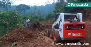Atienden vías en la zona rural de San Vicente de Chucurí - Vanguardia
